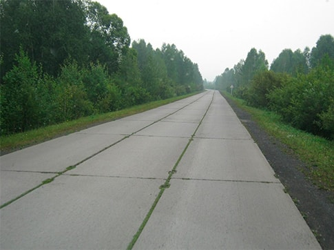 Устройство подъездных путей, дорог и площадок