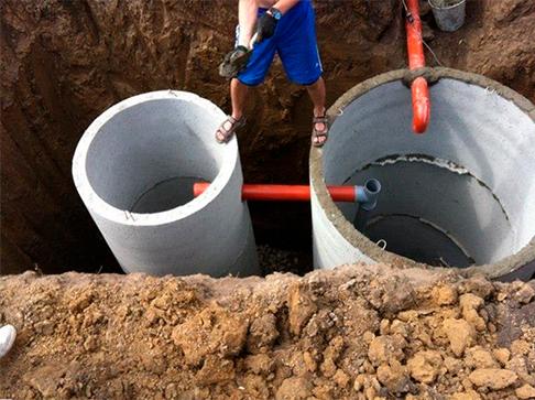 Монтаж наружных сетей канализации и водоснабжения