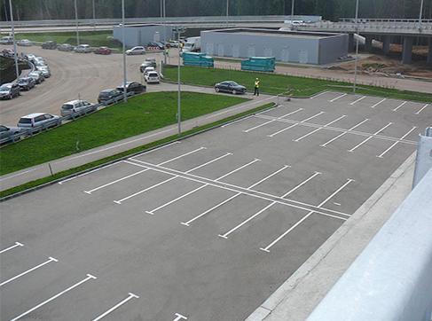Устройство тротуаров, парковок, разворотных площадок