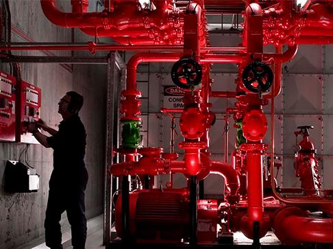 Монтаж и ремон системы пожаротушения и его элементов