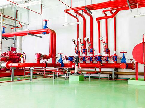 Монтаж систем противопожарного водоснабжения