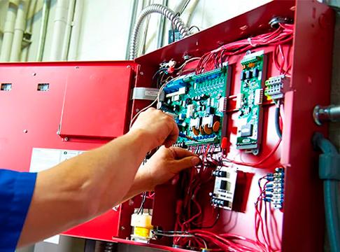 Монтаж систем охранно-пожарной сигнализации