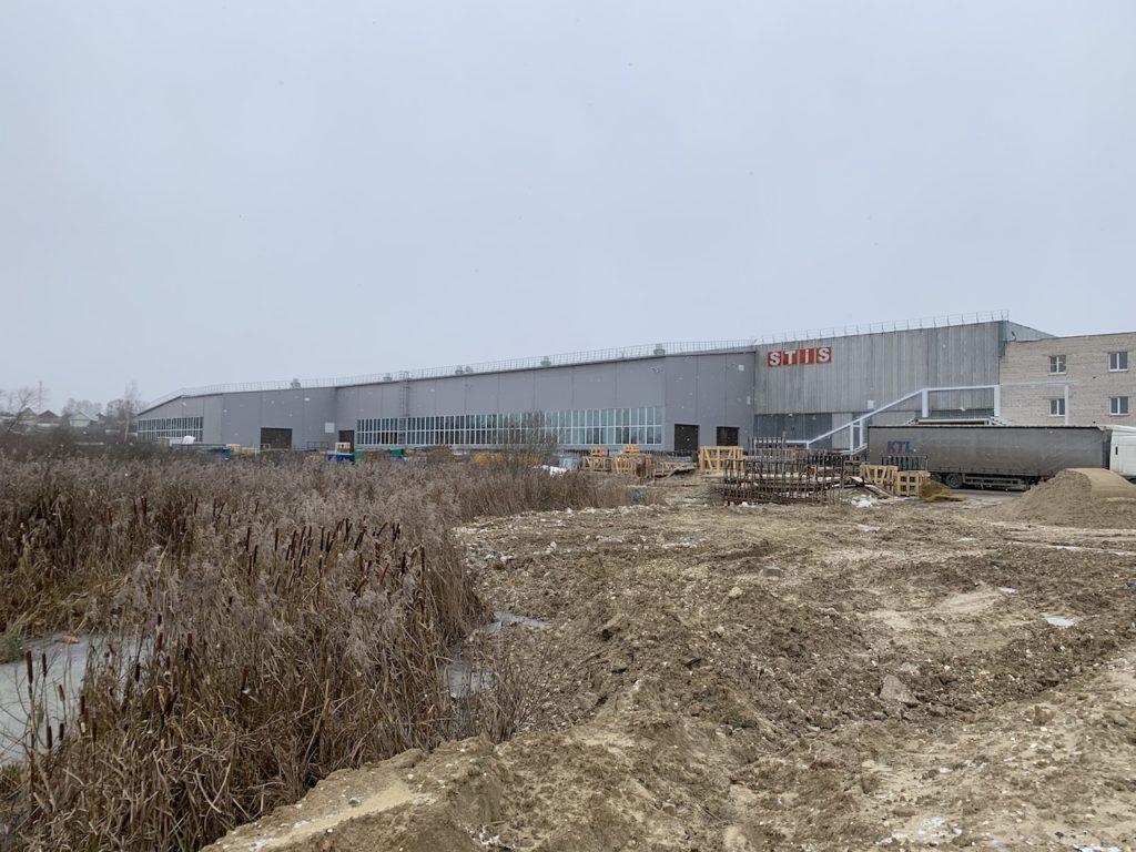 Производственное здание пгт. Ставрово (2019 г.)
